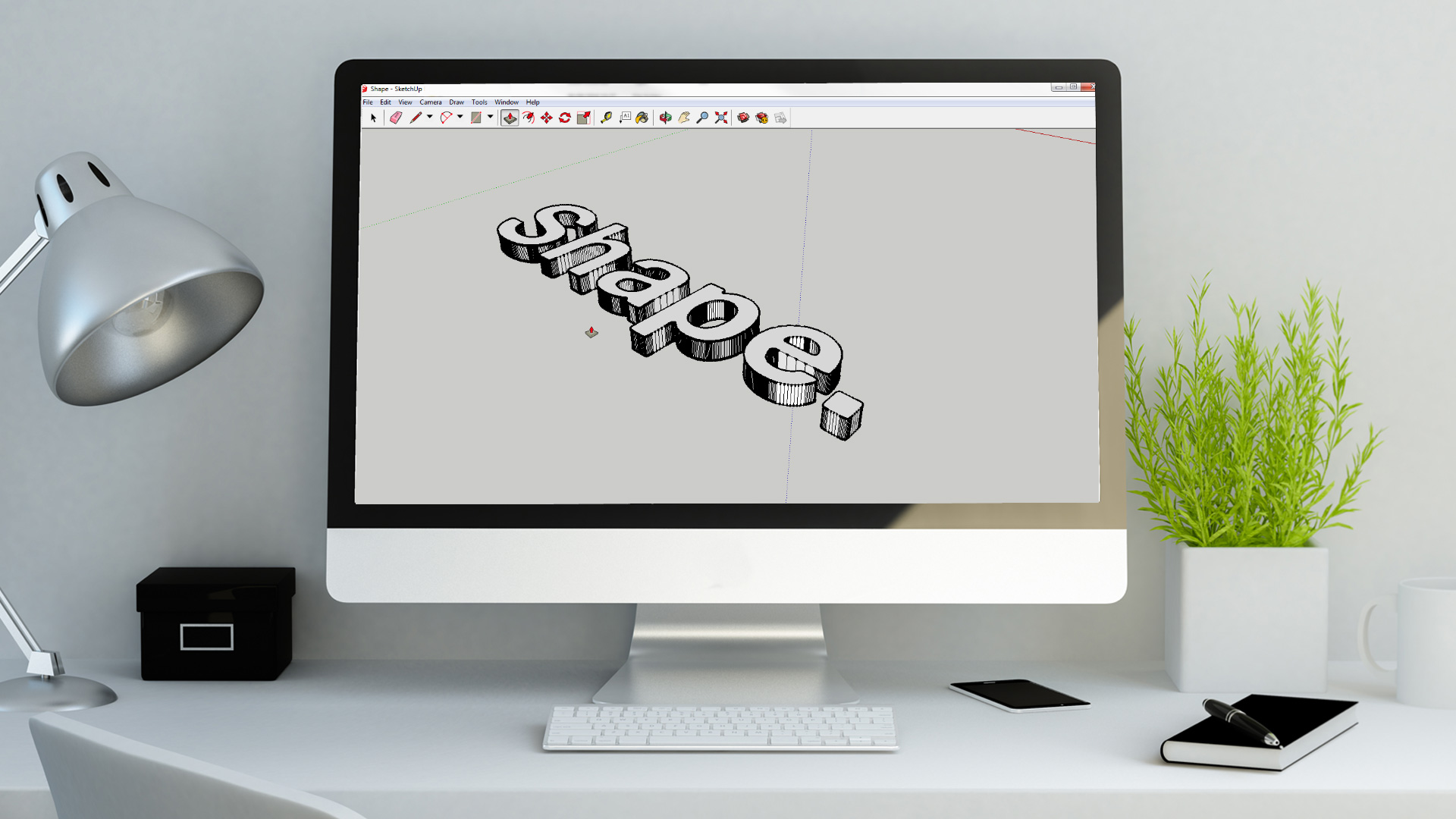 2D Logo to 3D Print using Adobe Illustrator and Sketchup Pro