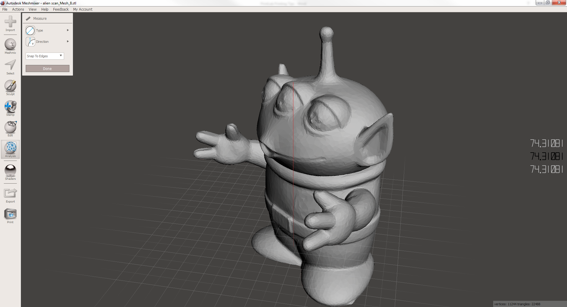 10 steps to getting started with Meshmixer for 3D Printing